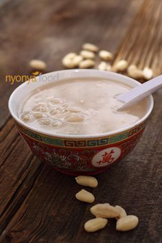 i need to find a good asian market asap... peanut sweet soup 花生糊