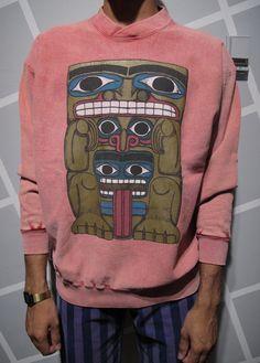 rad tee, sweatshirt size, size larg, sweater weather, style influenc, totem, better weather, larg nativ, tee print