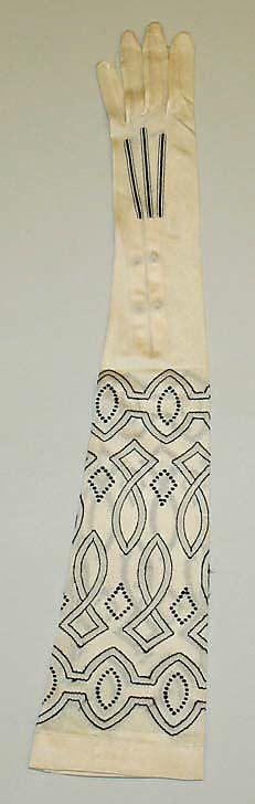 1920s Silk Gloves, Kayser-Roth Glove Co., Inc., American