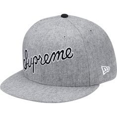 "New Era® x Supreme ""#1 Denim Script 59Fifty Fitted Baseball Cap"""