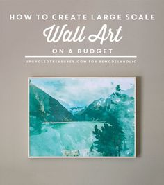 How to Create Large