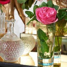 rose gin, drinki poo, diamond rose, diamonds, food
