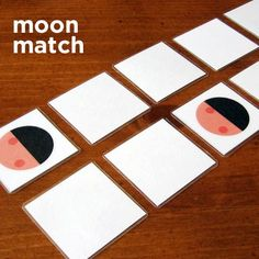 Moon  phases match game