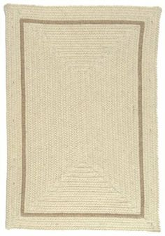 Colonial Mills EN30R Shear Natural Canvas Rug Rug Size: 2' x 3' by Colonial Mills. $69.35. Durable. Reversible. 100 eco-natural Wool. EN30R024X036R Rug Size: 2' x 3' Features: -Technique: Braided.-Material: 100pct Un-dyed, Eco-natural wool.-Origin: USA.-Durable.-Reversible.-Eco-friendly. Construction: -Construction: Handmade. Dimensions: -Pile height: 0.5''.-Overall Dimensions: 36-180'' Height x 24-144'' Width. Collection: -Collection: Shear Natural.