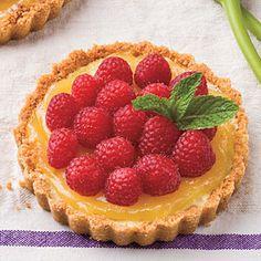 Desserts for Entertaining | Lemon-Almond Tarts  | SouthernLiving.com