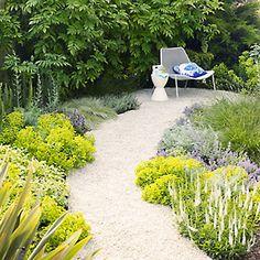 Create an enticing garden path