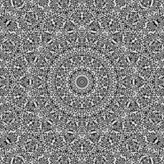 Quasicrystals as sums of waves in the plane - click through to see it animated.
