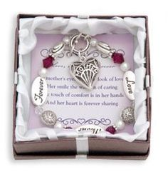 Amazon Deals: Love, Mother, Forever Silver Bracelet Only $7.99