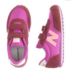 loving the color combo on these kicks!   New Balance for Crewcuts