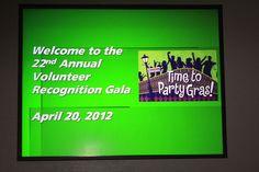 Flickr image set from Volunteer Appreciation Dinner April 20, 2012