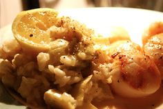 Risotto with Artichokes and Lemon
