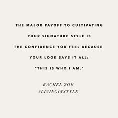 What's your signature style? xoRZ