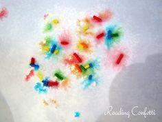 Reading Confetti: Sprinkle Fireworks
