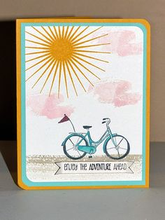 Stampin Along With Heidi: SUO 99 --- Kinda Eclectic Adventure