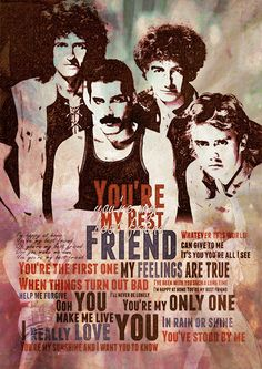 Queen - You're My Best Friend - 1976 Album = A Night at the Opera  Song  Lyrics