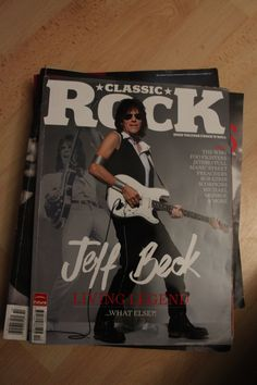 Classic Rock Magazine | Jeff Beck | cover