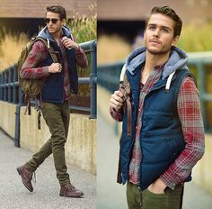 Flannel and layers