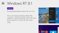 Updating Surface RT to Windows 8.1 RTM http://srtn.us/10f5