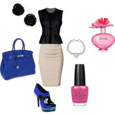 Business Attire, created by kdharper on Polyvore