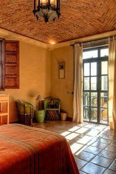 Mexican bedroom design