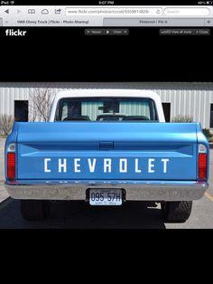 69 Chevy truck