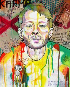Thom Yorke | Eduardo Bertone Porfolio