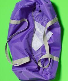 Dryer Sheet as Gym Bag Deodorizer