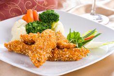 Tim Ferriss' Crisp-Baked Sesame-Coconut Chicken