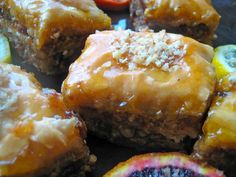 Apricot Baklava Recipe from The Mediterranean Kitchen