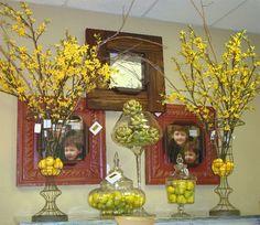 Uplifting and fresh spring vignette