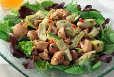 Cara Mia: Artichoke to Zucchini Salad