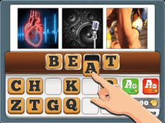 Find The Word - 3 Pics 1 Word - Game App for iPad
