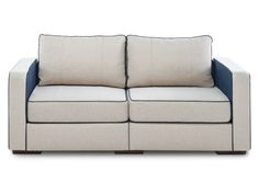 Sofa / Loveseat with Silver Birch / Navy Polyfelt Covers by Lovesac | Spring Collection 2014