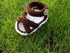 sandalia para bebe crochet pattern