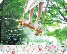 simple joy ~ make a blossom swing
