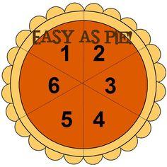 Easy as Pie Math Game