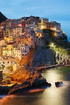 Manarola village, Italy | Flickr - Photo Sharing!