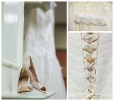 indianapolis indiana wedding photographer 4041 WEB Jon & Daniella | Indianapolis Wedding Photography bridal shoes garter rings