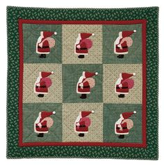 Santa Quilt Pattern