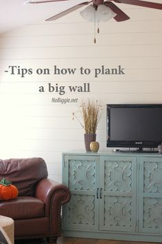 Tips on how to plank a big wall - NoBiggie.net