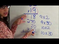 Partial-product multiplication  steps. This might be a good resource to send home to parents.
