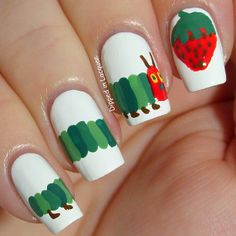 Very Hungry Caterpillar Instagram photo by dippedinlacquer