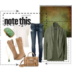 everyday wear, boot, weekend outfit, color, casual fall, oliv green, fall looks, fall outfits, polyvore