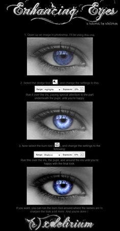 Enhancing Eyes in Photoshop Tutorial