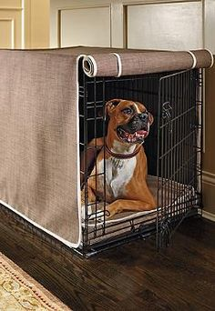 Your pet will love napping and sleeping in their own private retreat with the addition of the Crate Mattress and Crate Cover Set; a durable and hair, water and bacteria resistant fabric that keeps your pet's area clean and dry.