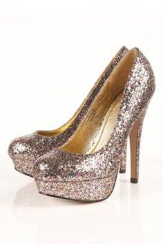 Awesome sparkly shoes