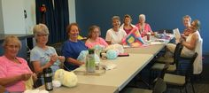 Day 20: Mingle with friends and get creative at our Stitch Club!!!