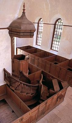 Historic Christ Church-Pulpit