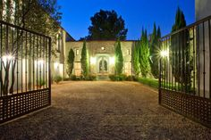 Provencal Style House in Waterkloof Ridge, Pretoria, South Africa