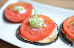 An easy step by step photo recipe for eggplant appetizer
